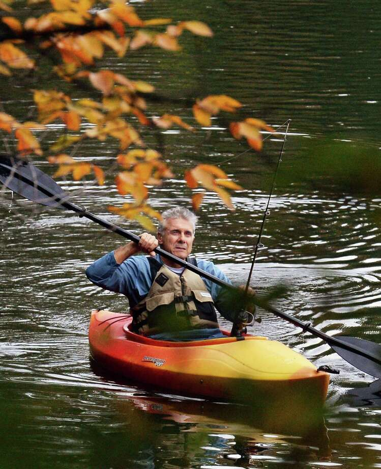 Now that October has arrived, environmental conservation officers say life jackets are now mandatory for anyone aboard a manually-propelled vessel until May 31, 2021. The risk of being injured or dying increases as water temperatures decline. Photo: John Carl D'Annibale / Albany Times Union