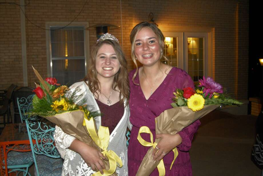 Plainview High School juniors Kenzi Brooke Knippa (left) and Bella Becerra (right) were selected Plainview Lions Club Queen and Princess for the coming year during the Plainview Lions Club's annual contest for queen. Photo: Doug McDonough/Plainview Lions Club