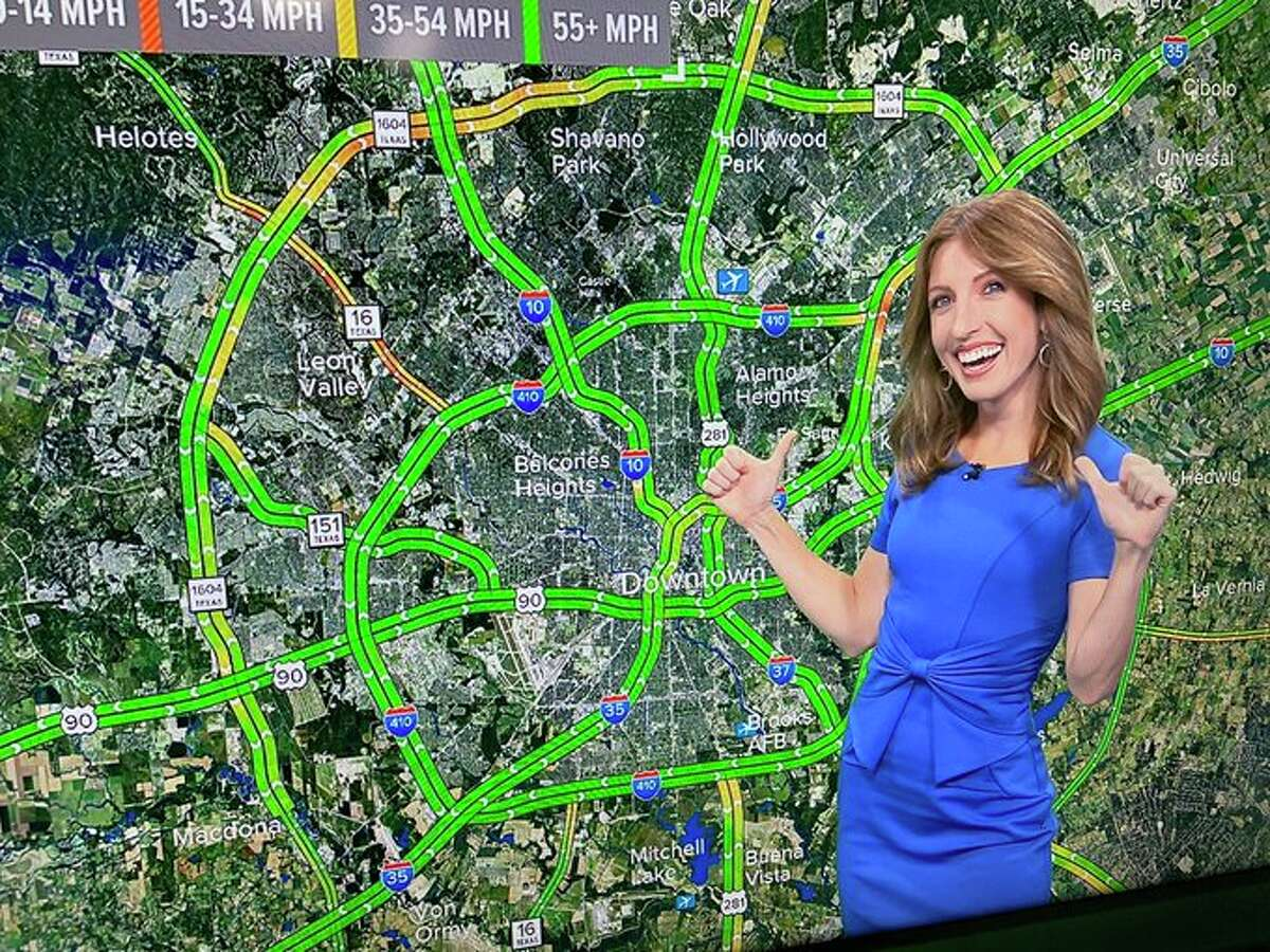 Holly Stouffer is the new KENS 5 afternoon traffic anchor.