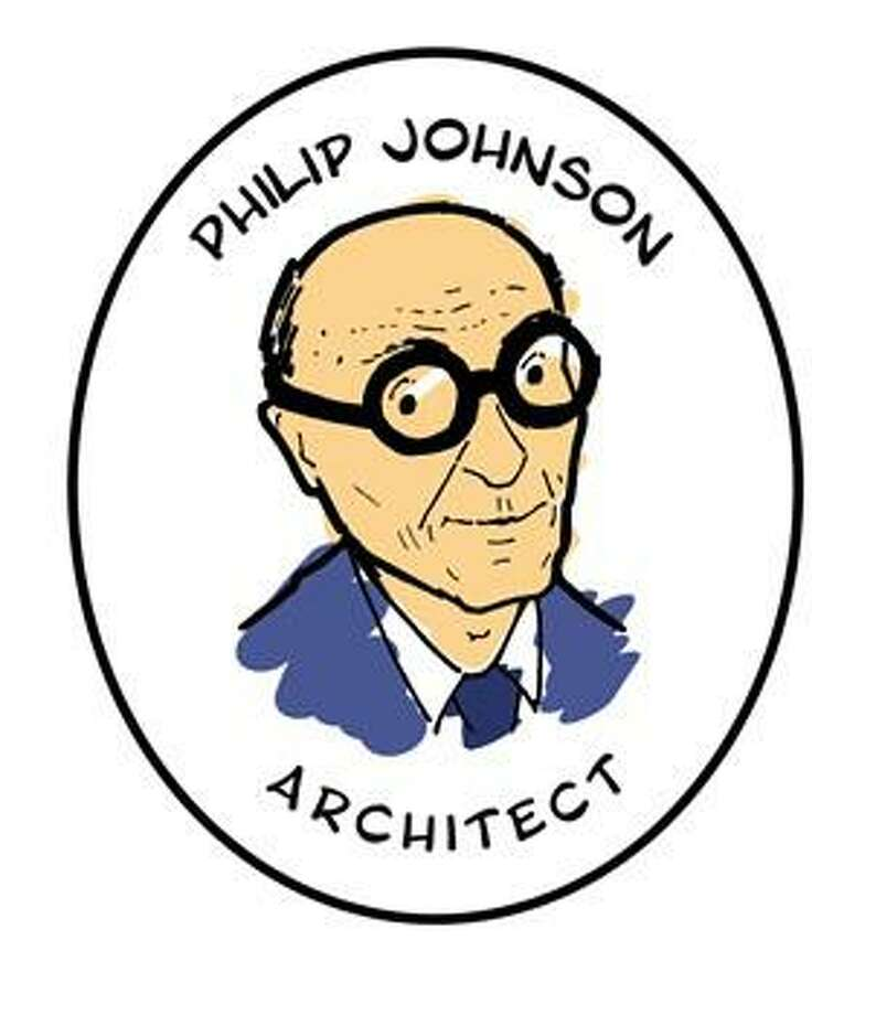 Philip Johnson's iconic glasses will be kept hidden in 30 of New Canaan's retail stores from Oct. 9-30 for the first annual Find Philip Johnson's Glasses challenge. Photo: New Canaan Museum And Historical Society / Contributed Photo