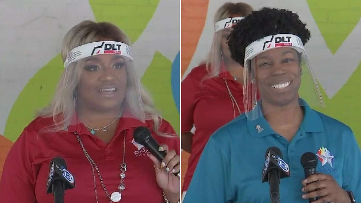 Lo Moton-Roberts and Thasia Madison are both starting new roles with Pride Houston.