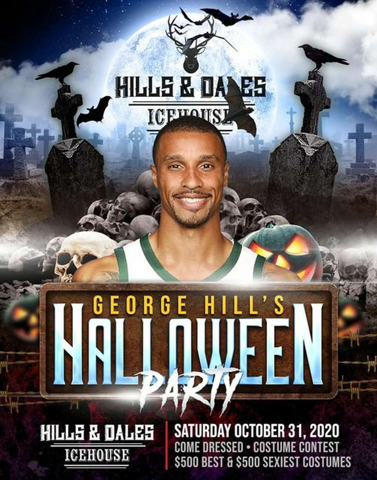 Two Hills will combine later this month when former Spur George Hill throws his Halloween party at Hills and Dales.