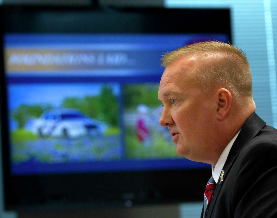 After running unopposed in the 2016 November general election, Sheriff Rand Henderson is facing Democrat Maher Husseini this November in his bid for reelection. Photo: Jason Fochtman, Staff Photographer / Houston Chronicle / © 2017 Houston Chronicle
