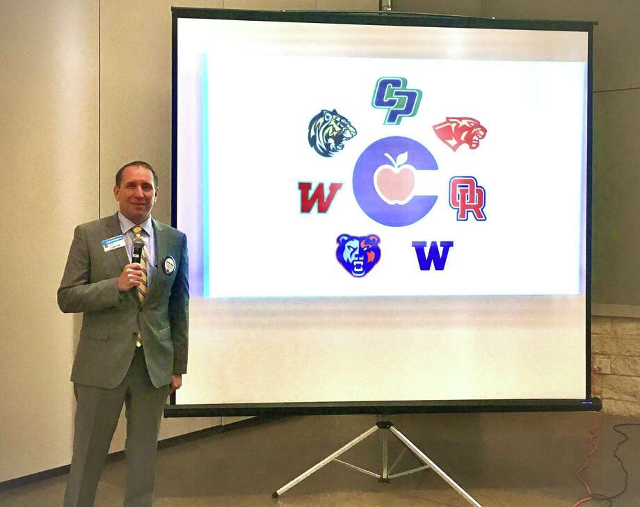CISD Superintendent Curtis Null (pictured) made a presentation to the Conroe Noon Lions Club during their Wednesday club luncheon last week; giving them an update on campuses, student enrollment, along with the Covid-19 processes now in place. Photo: Courtesy Photo