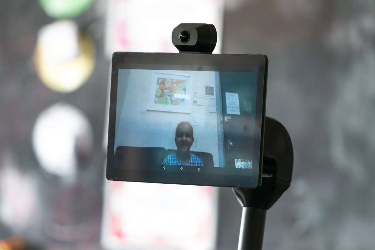 OhmniLabs creates robots designed for video chatting, with implementations ranging from health care to business to education.