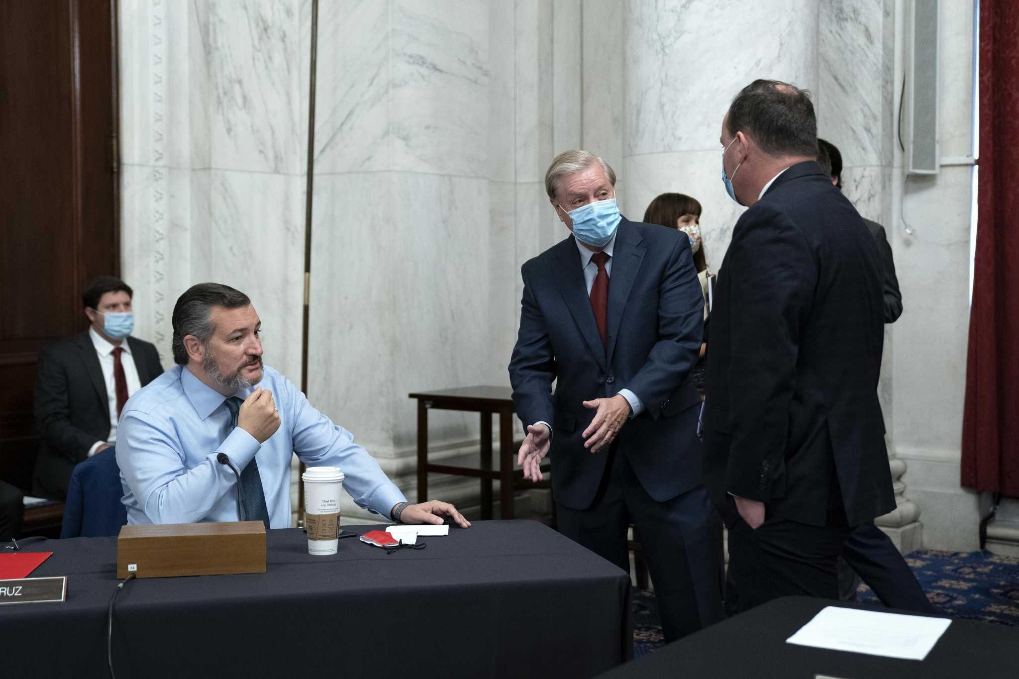 Sen. Mike Lee's COVID diagnosis may impact Texas Sens. John Cornyn and Ted Cruz