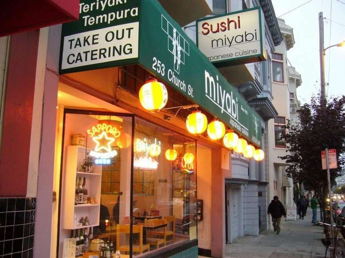 Miyabi Sushi, a restaurant at 253 Church St., San Francisco, has closed permanently.