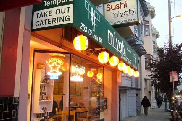 Miyabi Sushi, a restaurant at 253 Church St., San Francisco, has closed permanently.
