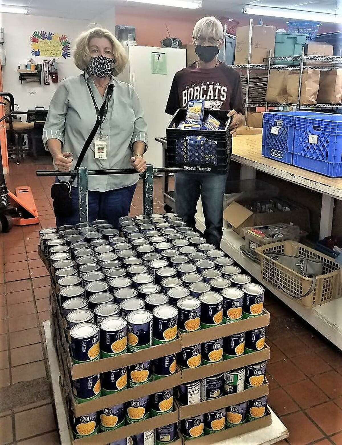 Cypress Assistance Ministries has received donations from both community members and local food suppliers like Food Town.