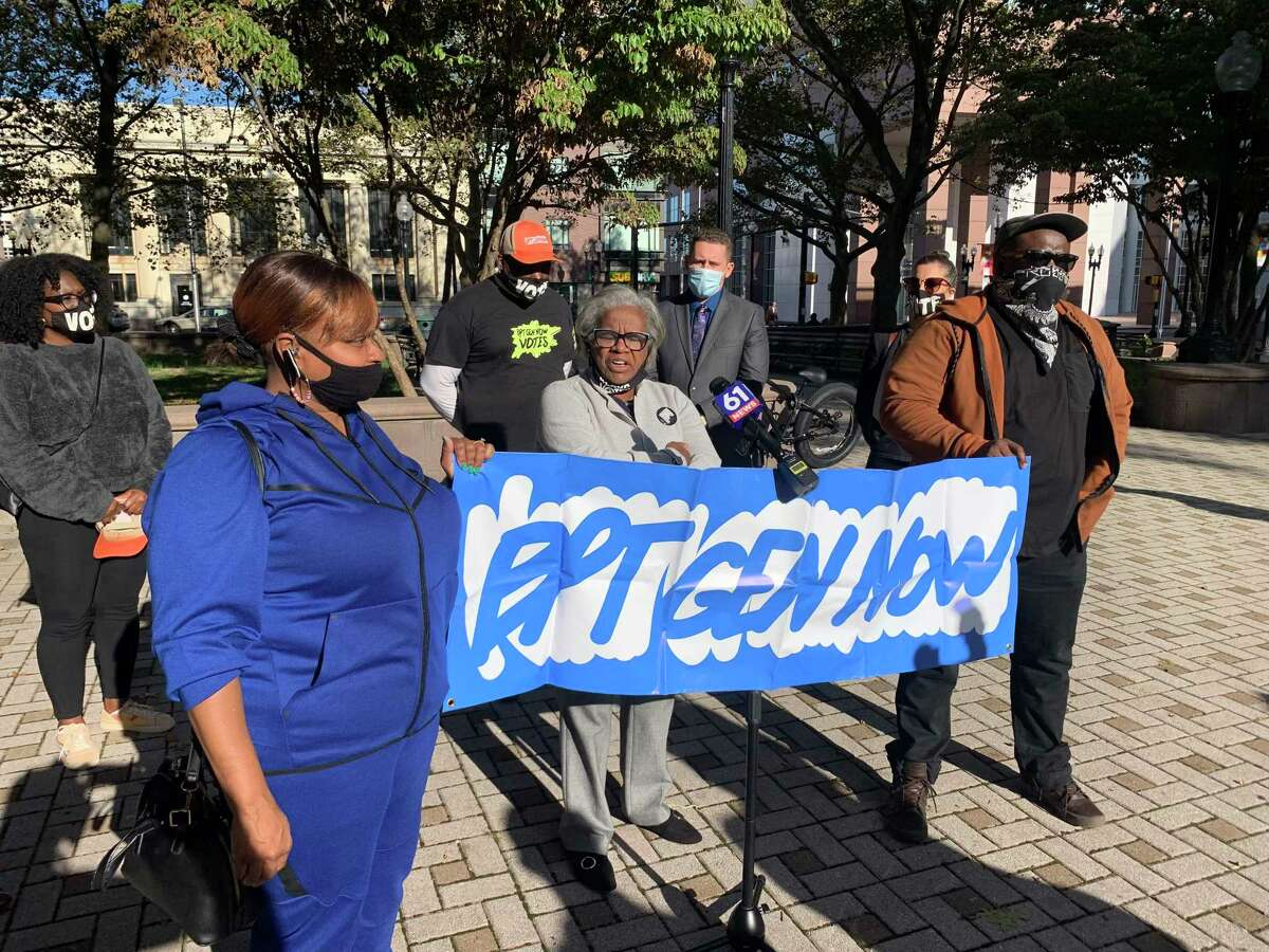 Bridgeport State Sen. Marilyn Moore said two months is not time enough for an election monitor to clean up Bridgeport. She said she will ask the State Legislature in January to extend the post for two more years.
