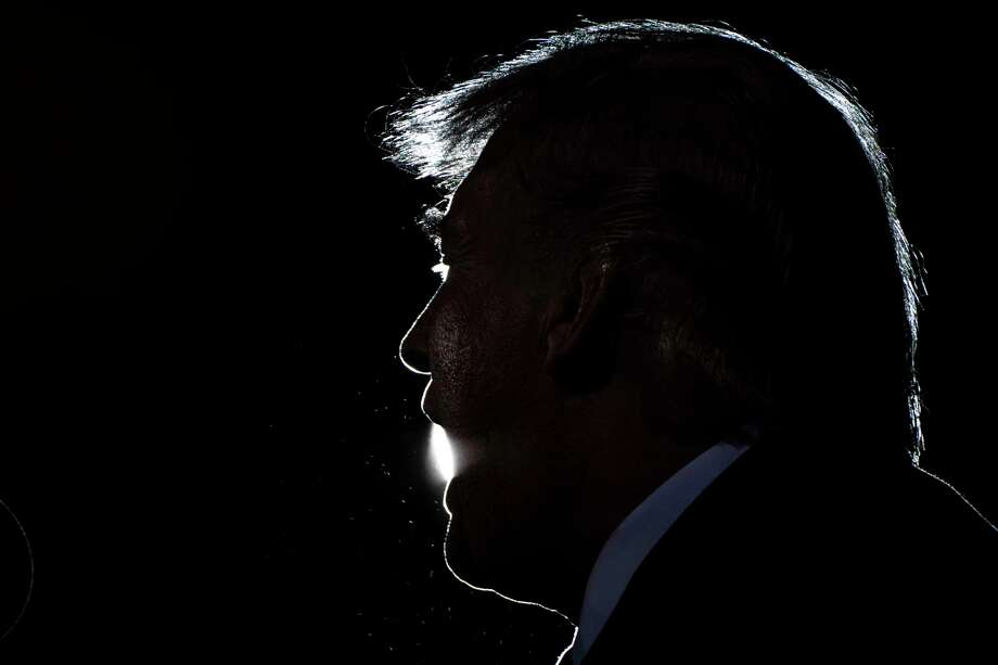 In recent days, President Trump has appeared with thousands at a rally in Minnesota, debated Biden onstage in Cleveland and met with donors in Bedminster, N.J. He's also spent time with top aides. Photo: Washington Post Photo By Jabin Botsford / The Washington Post