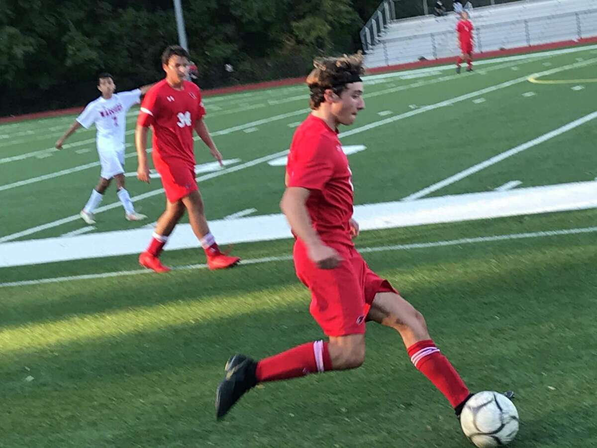 The Greenwich High School boys soccer team registered a 7-0 win over Wright Tech on Friday, October 2, 2020, in Greenwich, Connecticut.