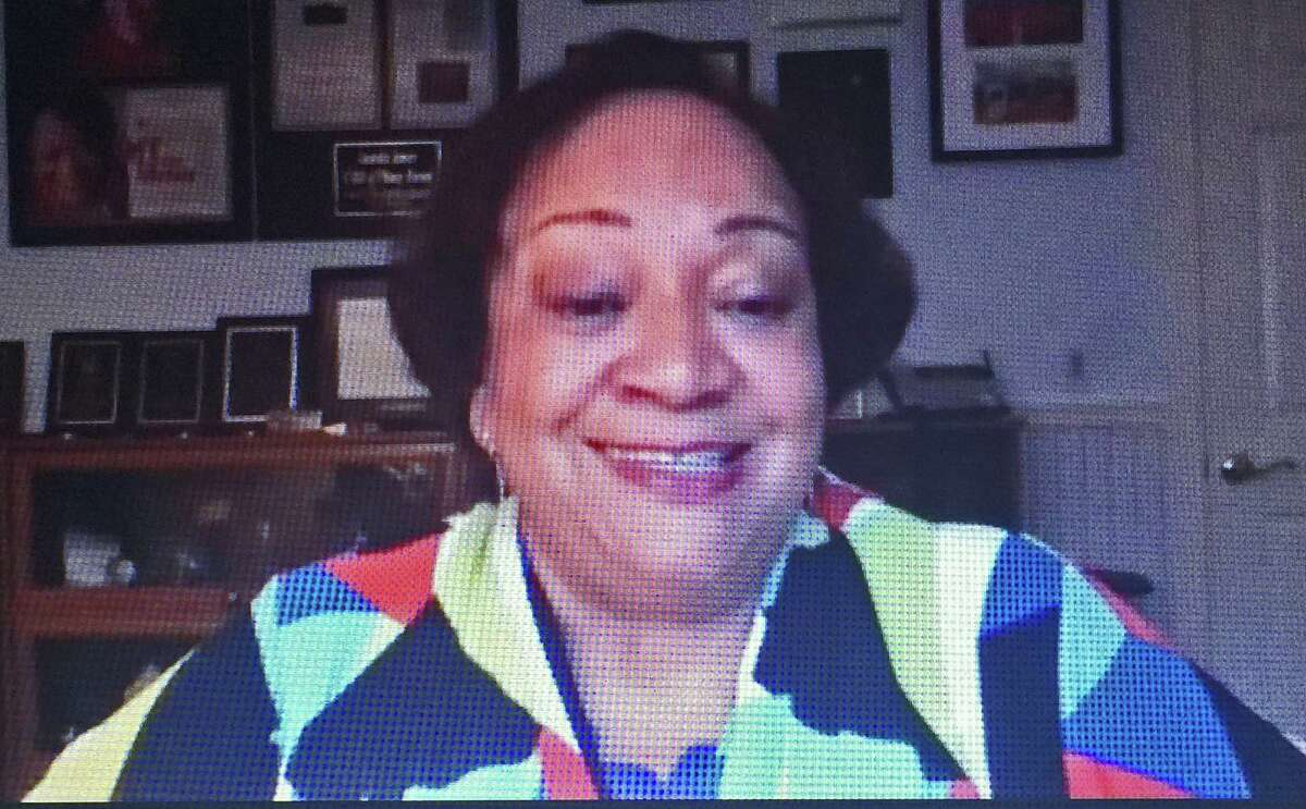 Fairfield County's Community Foundation President Juanita James during a webinar on voting Tuesday, Sept. 29, 2020.