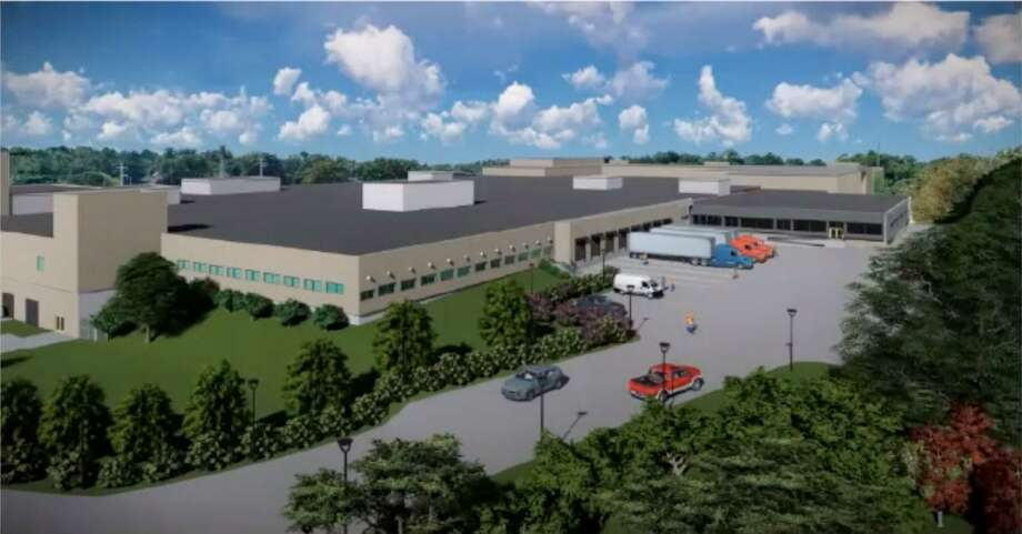 A rendering of proposed development at Norden Park in Norwalk. Photo: Contributed