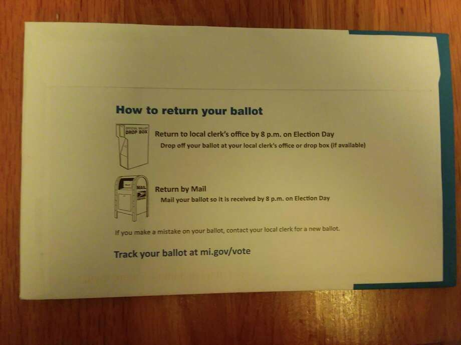 Those who request an absent voter ballot should fill it out and return it with plenty of time for it to get back to the clerk's office. Residents can track their ballot at mi.gov/vote. (Michelle Graves/News Advocate)