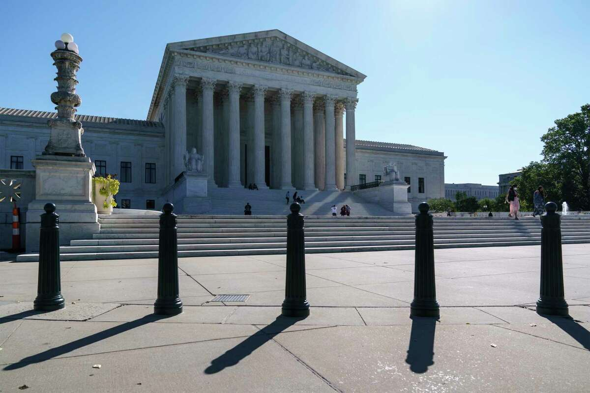 FILE. The Supreme Court is seen in Washington, Saturday, Oct. 3, 2020.