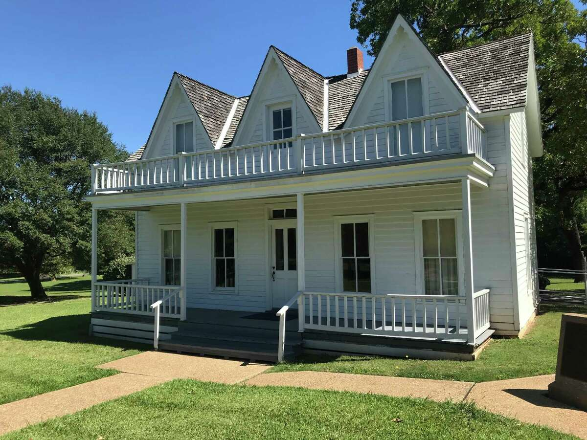 Ida and David Eisenhower were renting this house in a working-class neighborhood of Denison when Dwight David was born on the night of Oct. 14, 1890.