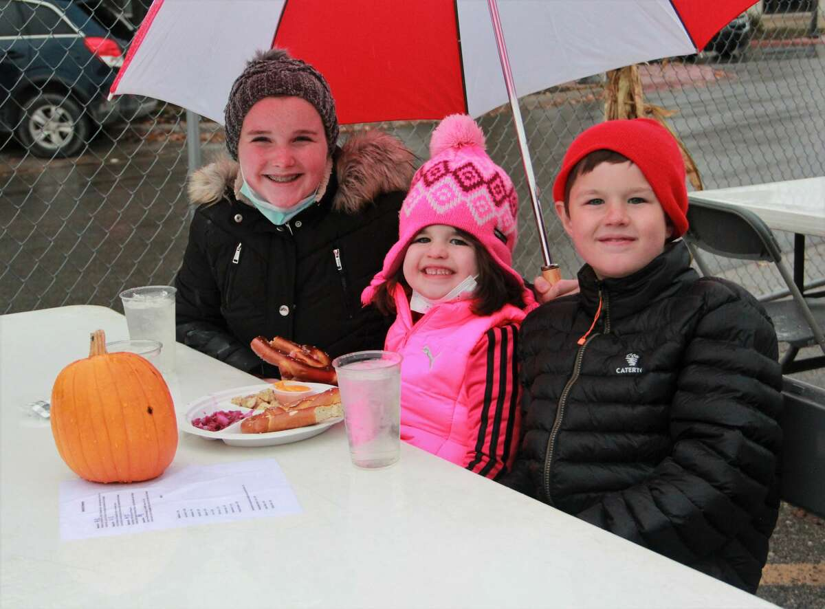 Residents braved the cold Saturday as they celebrated Reed City's inaugural Octoberfest Celebration. Hosted by Reed City Brewery, live music played as guests enjoyed German-inspired beer and food.