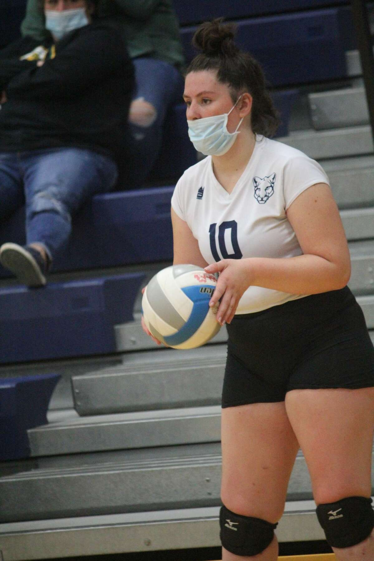 Crossroads' volleyball team took second on Saturday in its home quad.