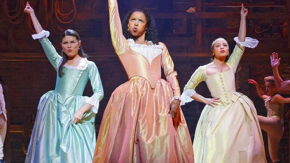 I loved Hamilton the musical and want to be friends with the Schuyler sisters. (photo credit: google.com)