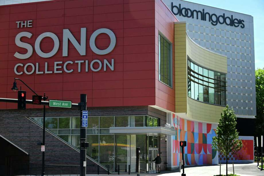 The SoNo Collection mall opened in October 2019 in Norwalk, Conn. Photo: Erik Trautmann / Hearst Connecticut Media / Norwalk Hour