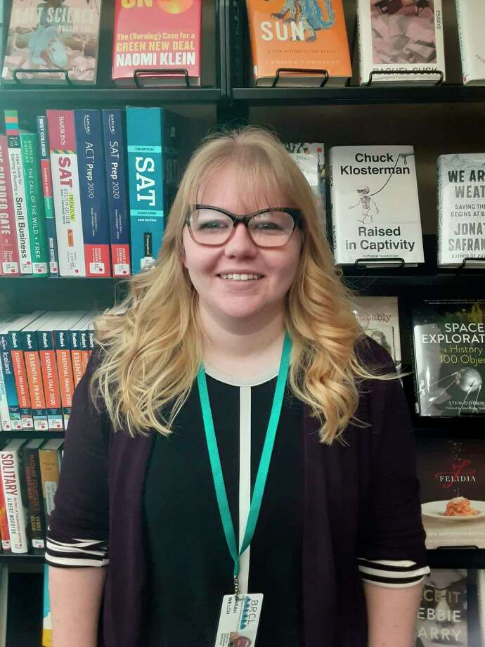 New to the Big Rapids area, BRCL Head of Programs and Services Sarah Welch is celebrating just over a year in her position with the community library. In 2018, Welch received her Master's in Library and Information Science from Wayne State University. (Courtesy photo)