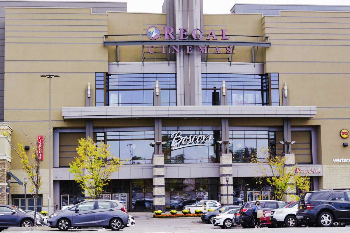 A view of the Regal Cinemas at Colonie Center Mall on Sunday, Oct. 4, 2020, in Colonie, N.Y. (Paul Buckowski/Times Union)