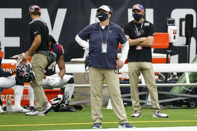 Houston Texans head coach Bill O'Brien looks onto the field during the fourth quarter of an NFL football game at NRG Stadium on Sunday, Oct. 4, 2020, in Houston. Photo: Brett Coomer/Staff Photographer / © 2020 Houston Chronicle