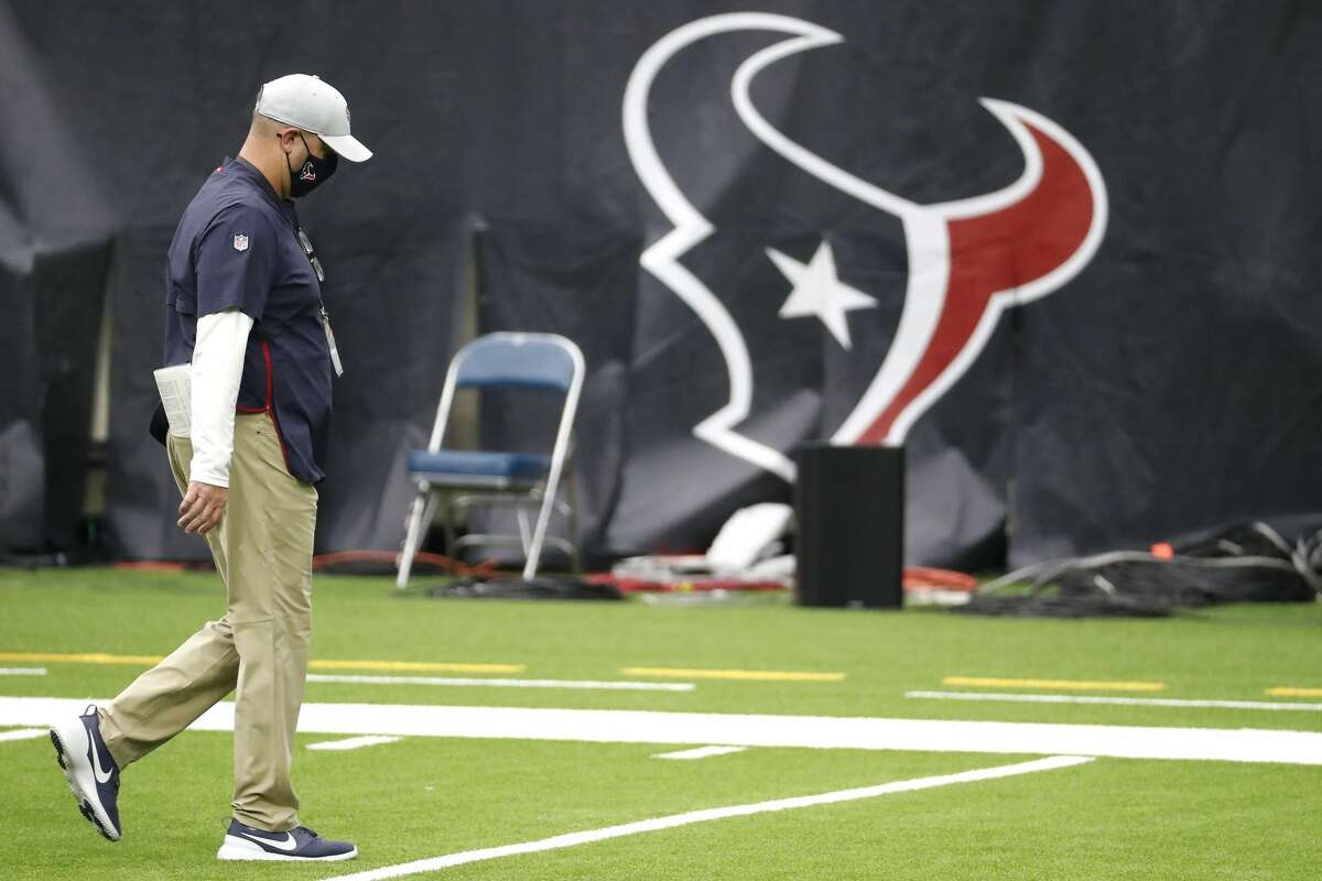 PHOTOS: Memes mocking the Texans and Cowboys' rough Sunday Houston Texans head coach Bill O'Brien walks off the field as the clock winds down during the fourth quarter of an NFL football game against the Minnesota Vikings at NRG Stadium on Sunday, Oct. 4, 2020, in Houston. The Vikings beat the Texans 31-23, to drop the Texans to 0-4 on the season.