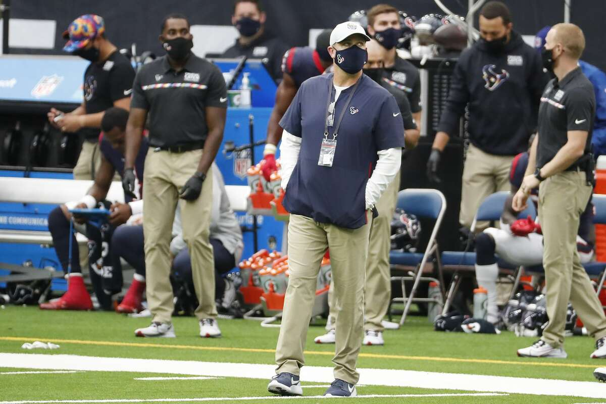 There won't be a fifth AFC South title in seven seasons for Bill O'Brien after the Texans fired him Monday after a 0-4 start to the season.