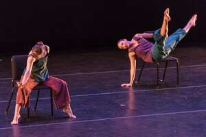 "Rehearsals for Ellen Sinopoli's  new work ""Slipping Through."" (credit: Pierre Words)"