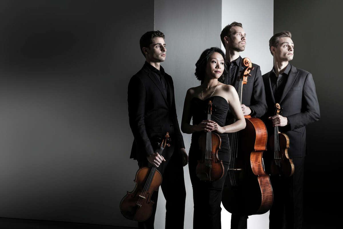 Tesla Quartet.Photo credit: Dario Acosta