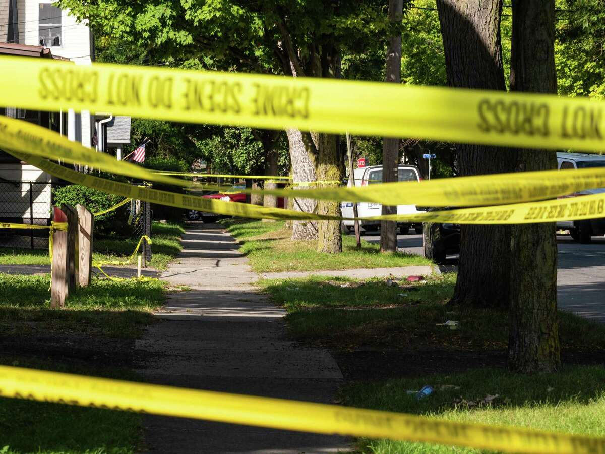 Meriden police say 34-year-old Casey Eric Schoonover, a city resident, was killed in a shooting early Sunday morning.
