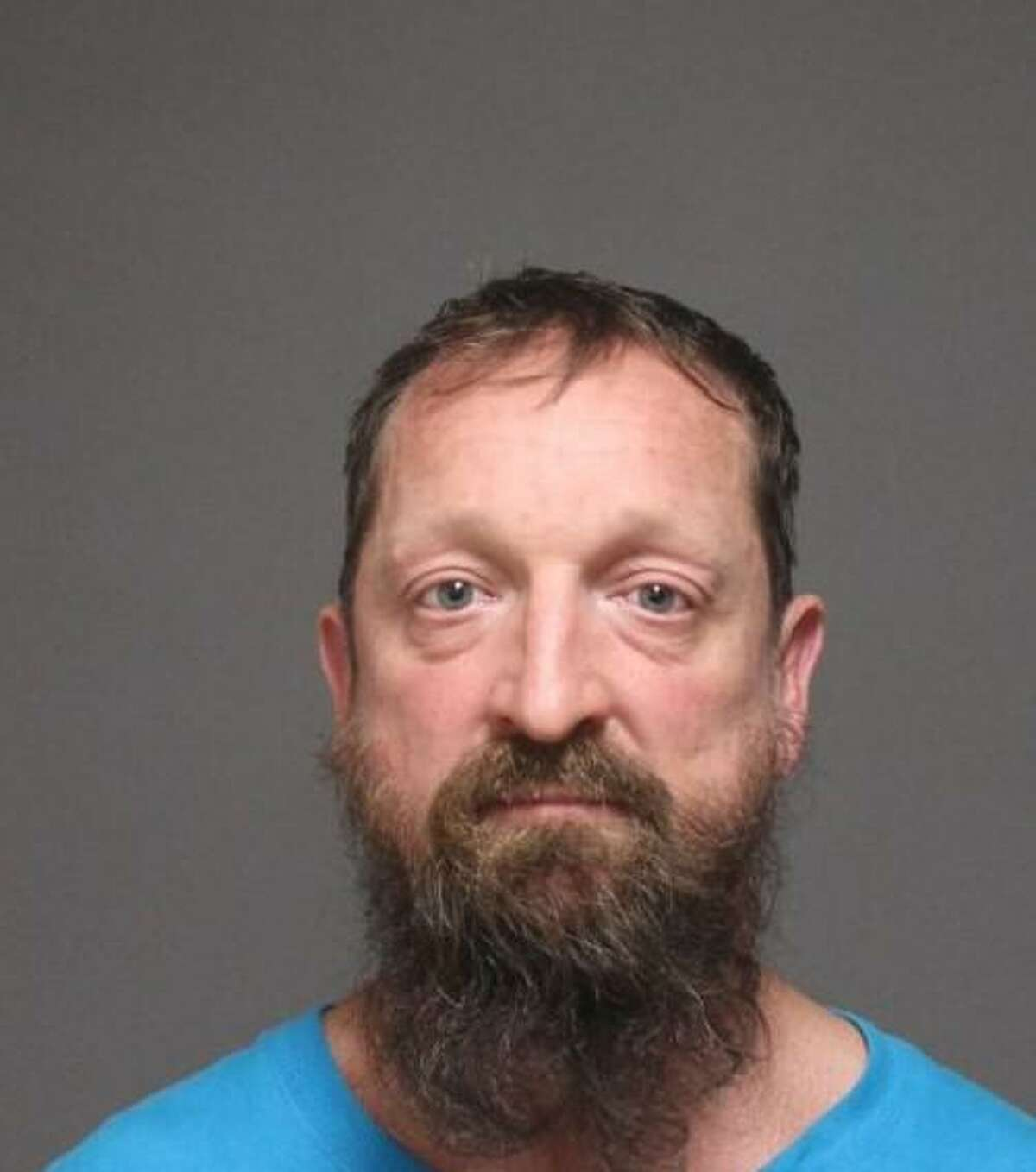 Jason Scoran, a 45-year-old Fairfield man, was arrested and charged with third-degree assault, third-degree strangulation and disorderly conduct, according to police.