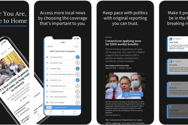 Marketing page for CTInsider app