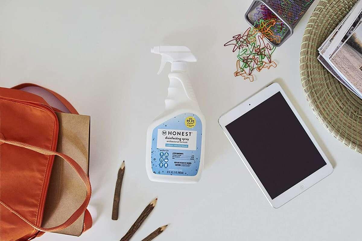 The Honest Company Honest Disinfecting Spray, $6.99 on Amazon