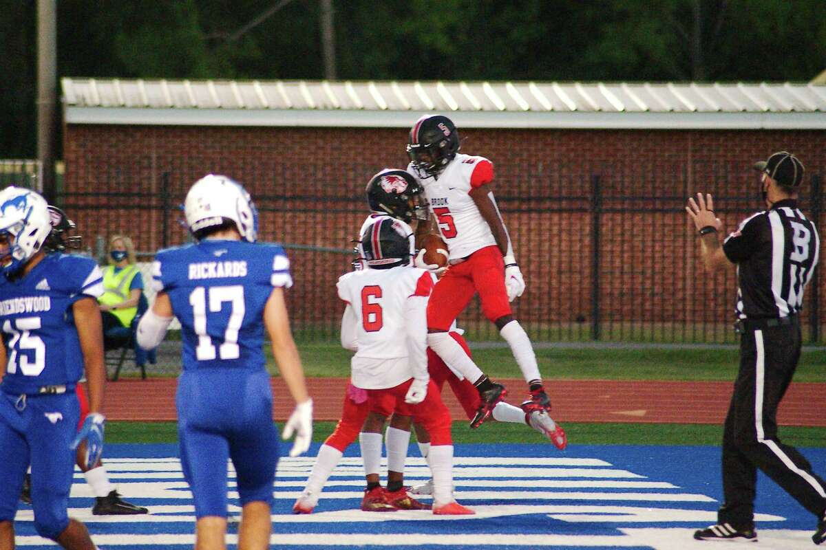 Clear Brook's Jarren Harbin (5) and the remainder of the Wolverine offense will pose a big challenge to Clear Lake this week.