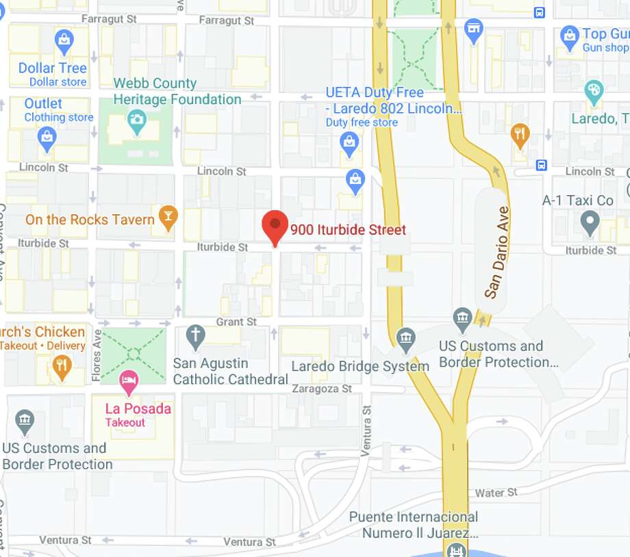 The auto-cyclist incident was reported at about 2 a.m. in the 900 block of Iturbide Street. Paramedics encountered a 24-year-old man with multiple injuries. Photo: Courtesy Photo