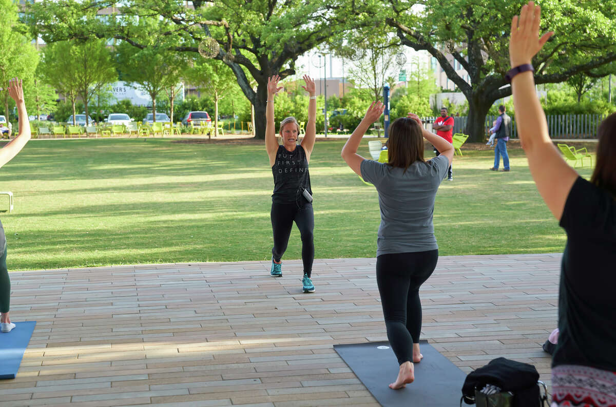 Body Barre at Levy Park.