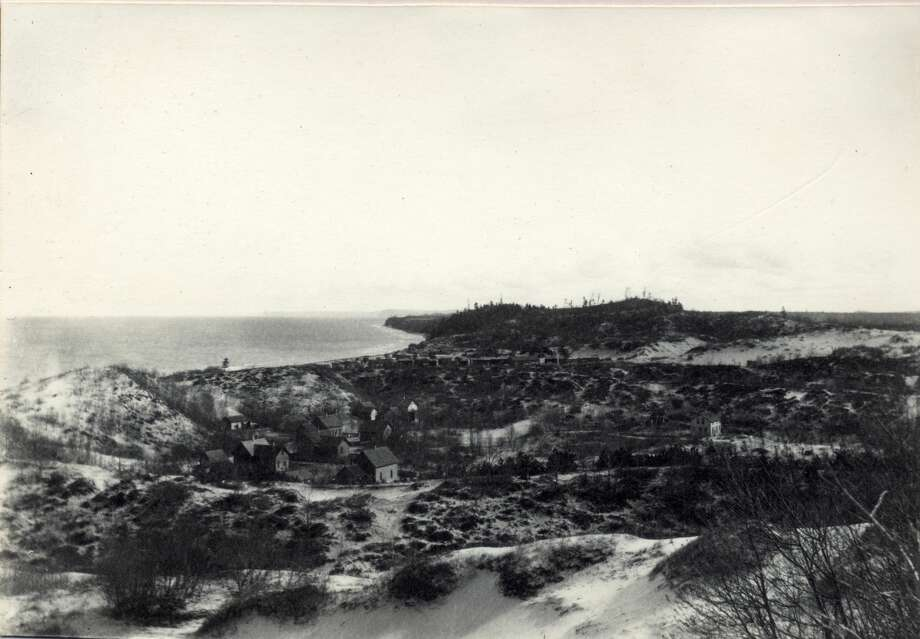 """This photo is believed to be a partial view of Manistee's """"Jerusalem"""" circa 1905. Photo: (Manistee County Historical Museum Photo)"""