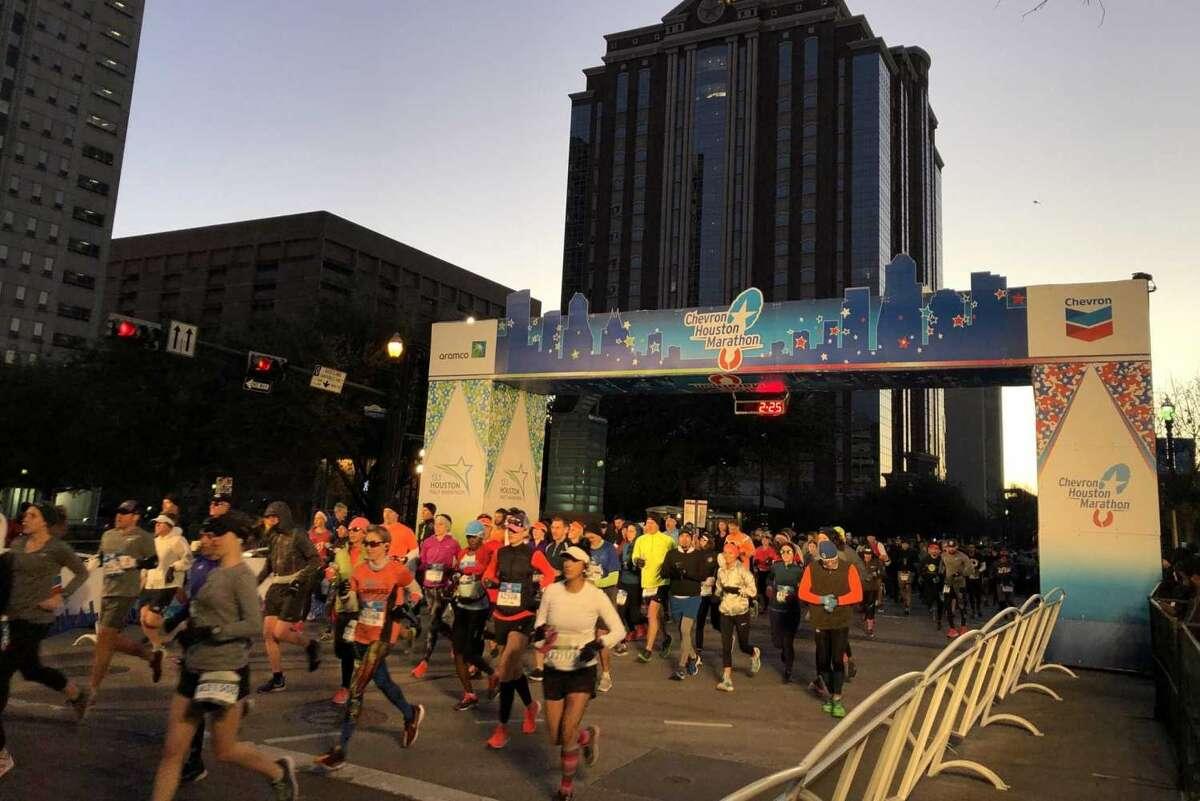 The Chevron 2021 marathon and half marathon will be held virtually this year.