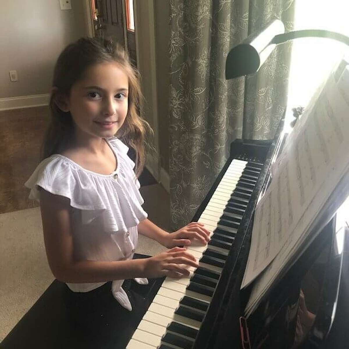 Addyson Tabankin, of Rexford, N.Y., daughter of New York Army National Guard Lt. Col. Shawn Tabankin, placed first in the 10-11 age group of the Military Kids Have Talent Contest after two weeks of national public voting.