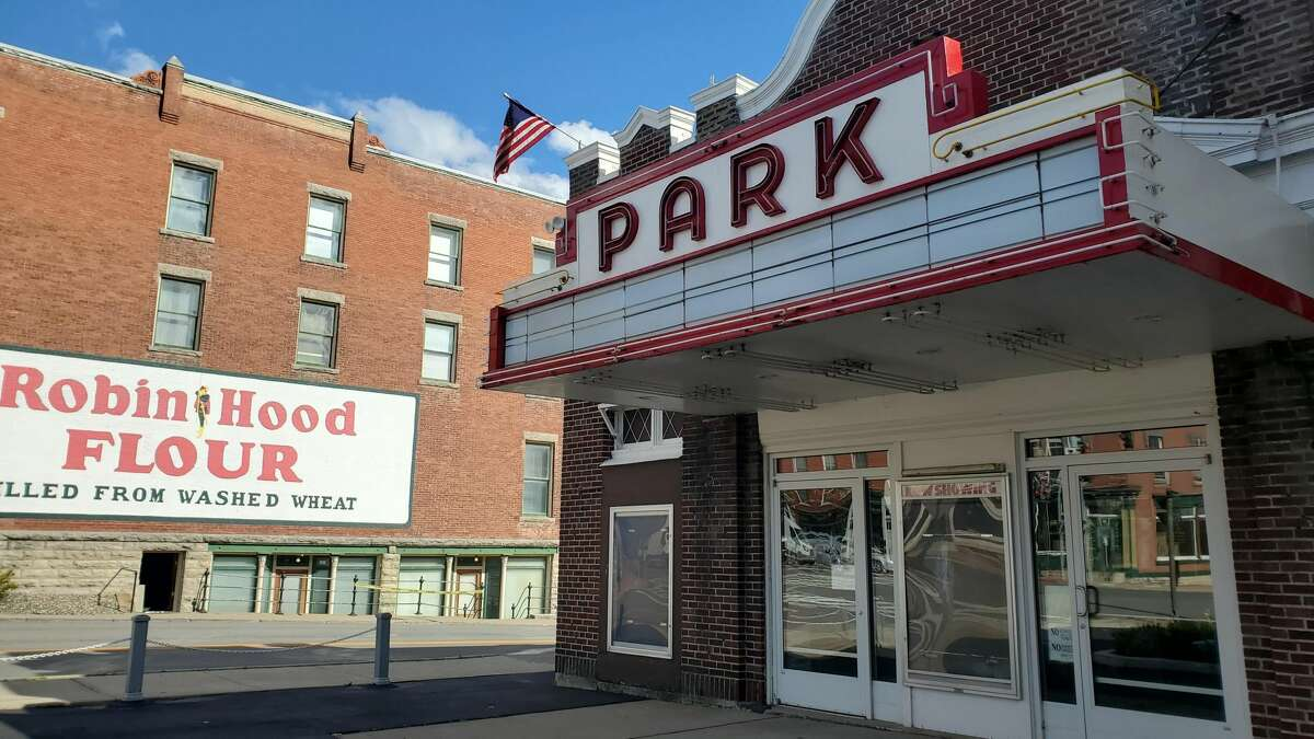 The Park Theatre in Cobleskill is among the theaters shuttered by New York's coronavirus restrictions. (Chris Churchill / Times Union)
