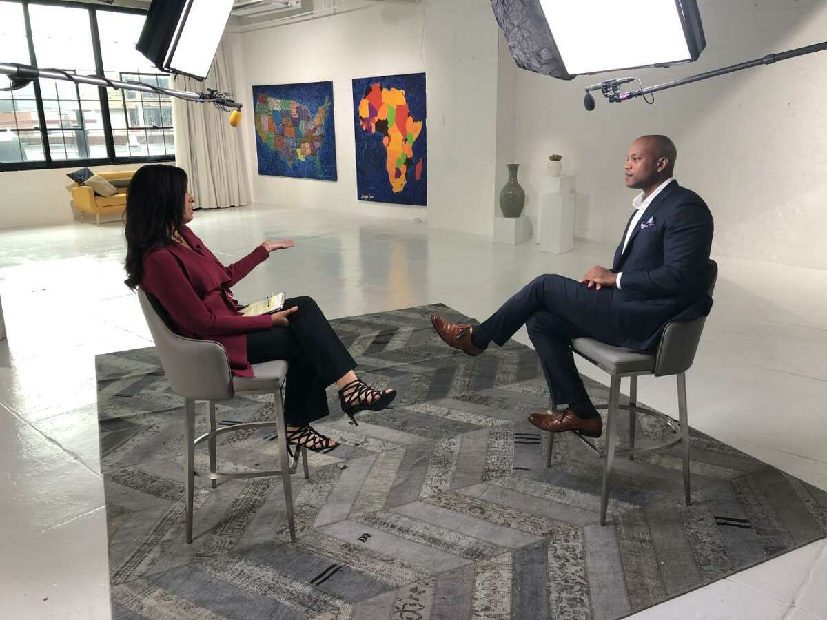 Soledad O'Brien talks with Wes Moore, CEO of the Robin Hood Foundation