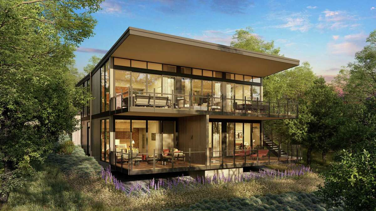 Montage Residences Healdsburg features 25 Harvest homes, designed by San Diego-based Delawie Architecture.