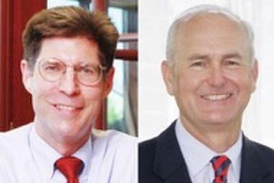 Incumbent Republican Kurt Prenzler is challenged by former Madison County Regional Superintendent of Schools Bob Daiber, a Democrat. Photo: File