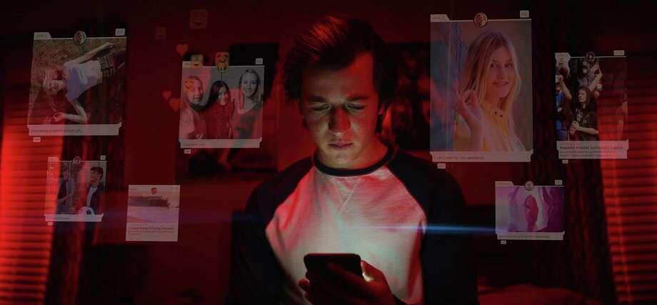 "Skyler Gisondo in the documentary â""The Social Dilemma."" (Exposure Labs/Netflix/TNS) Photo: Exposure Labs / TNS / Netflix"