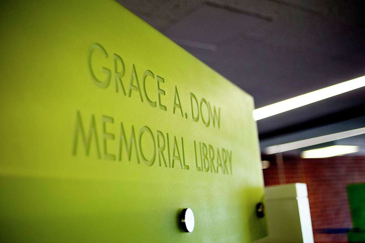 Grace A. Dow Memorial Library in Midland. (Daily News file photo)