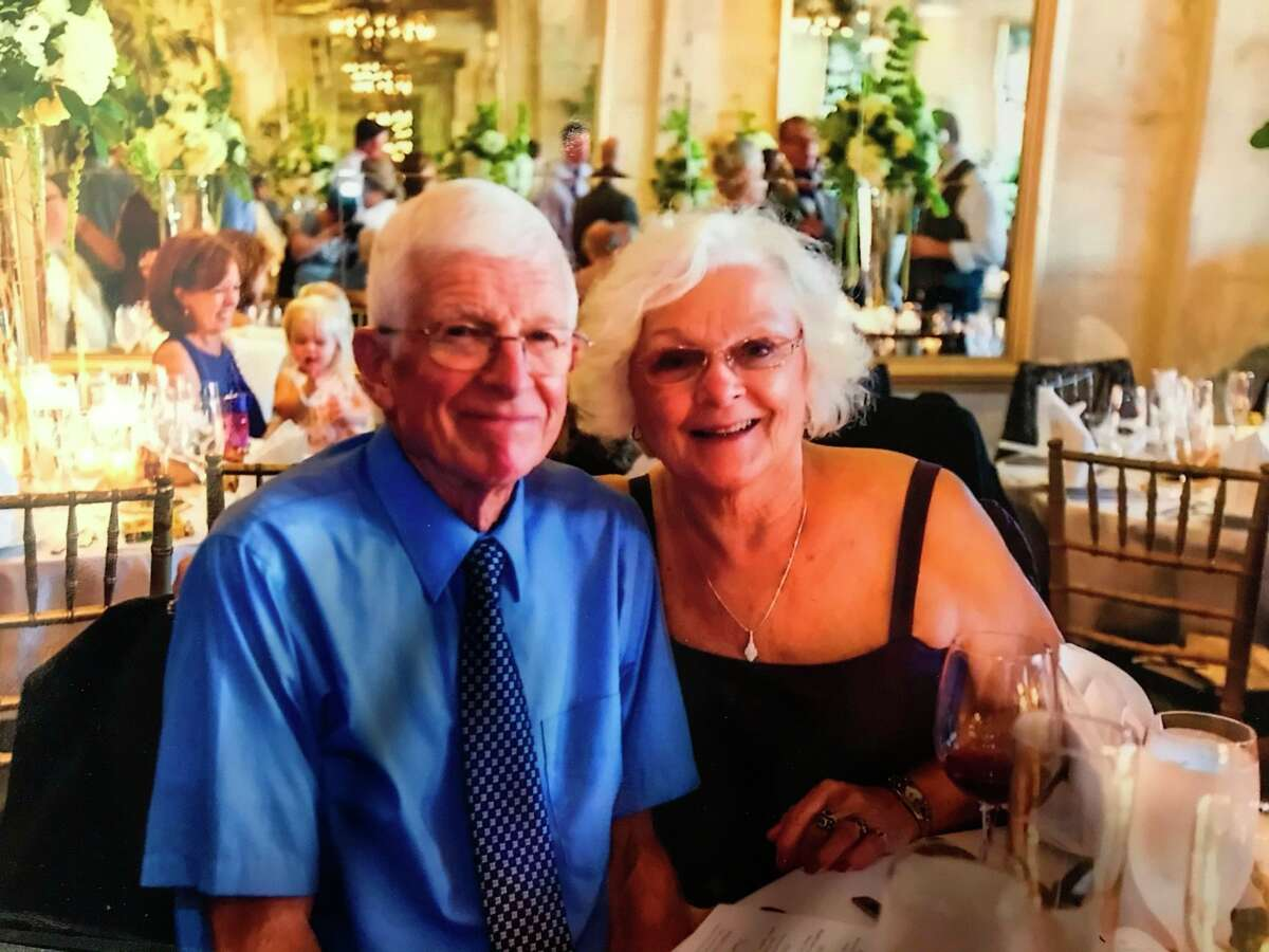 """Writing 10 books in 26 years, Morley resident Gordon Galloway said he has written his final book, """"Sheep Dogs."""" During his career as an author, Galloway said he received significant help from his wife, Mary Ann, as she helped to type his stories.(Courtesy photo)"""