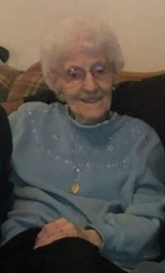 One hundred years ago, on Oct. 5, 1920, Winsted resident Irene Leblond was born in Plainfield. Photo: Contributed Photo